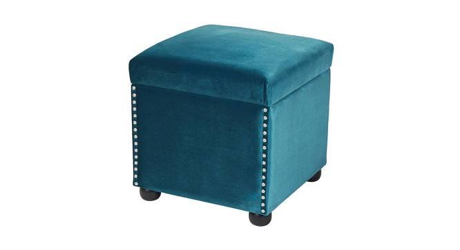 Jade Ottoman (Blue) by Urban Ladder - Cross View Design 1 - 361366