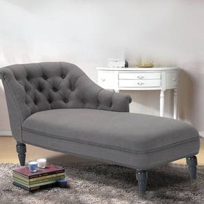 Krasto Lhs Chaise Lounger (Grey, Classic Finish) by Urban Ladder - Design 1 - 361400