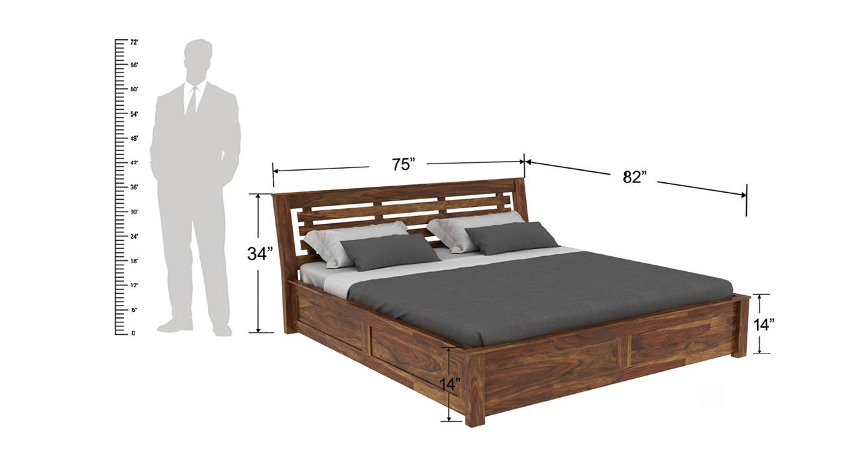 Christian platform storage bed 6