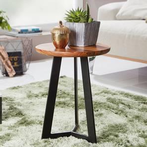 Chevis Side Table (Semi Gloss Finish, Honey Oak) by Urban Ladder - Design 1 - 361772