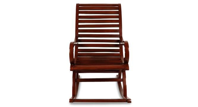 Michael Rocking Chair (Brown) by Urban Ladder - Cross View Design 1 - 361930