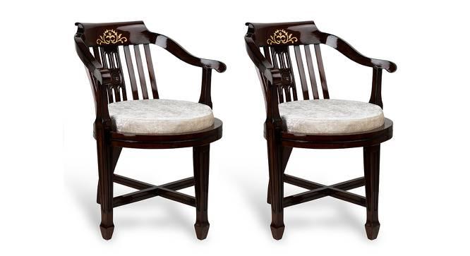 Alan Bedroom Chair (Brown) by Urban Ladder - Cross View Design 1 - 361931