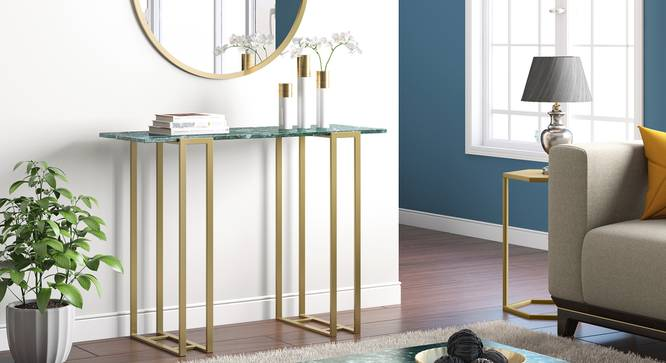 Osiris Console Table (Green) by Urban Ladder - Full View Design 1 - 361954