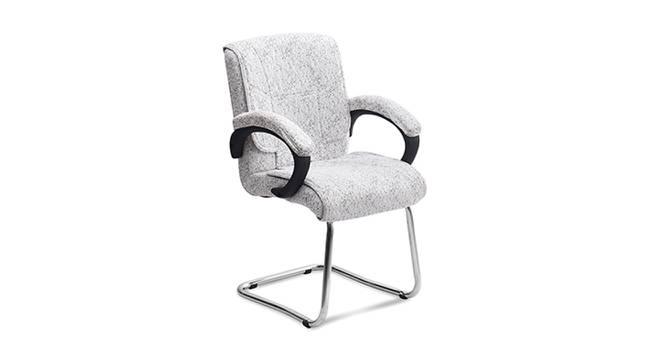 Toniesha Office Chair (Premium White) by Urban Ladder - Cross View Design 1 -