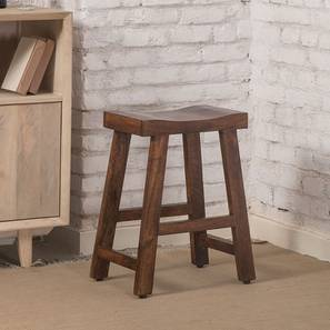 Tillman Bar Stool (Walnut Finish) by Urban Ladder - Design 1 - 362205