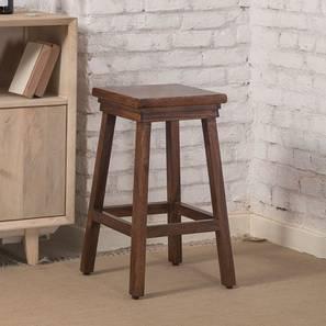 Wain Bar Stool (Walnut Finish) by Urban Ladder - Design 1 - 362216