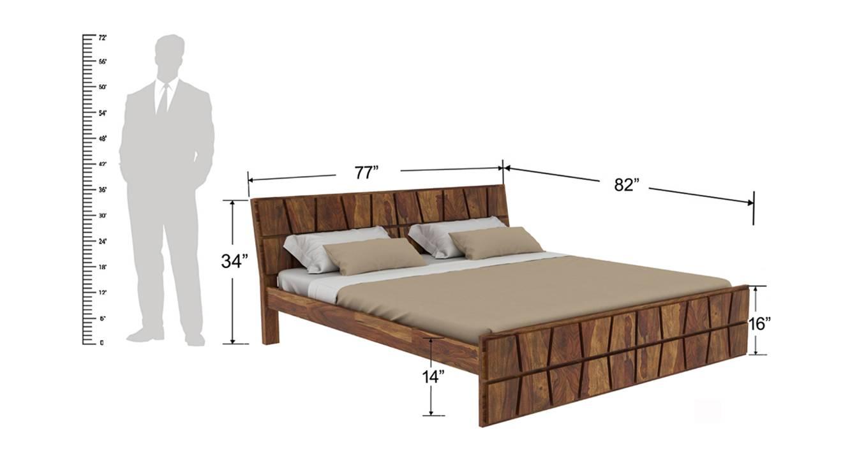 Antilles non storage bed 6