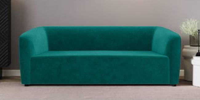 Berlin Fabric Sofa (Green) (Green, 1-seater Custom Set - Sofas, None Standard Set - Sofas, Fabric Sofa Material, Regular Sofa Size, Regular Sofa Type)