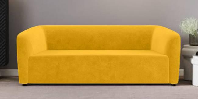 Berlin Fabric Sofa (yellow) (Yellow, 1-seater Custom Set - Sofas, None Standard Set - Sofas, Fabric Sofa Material, Regular Sofa Size, Regular Sofa Type)