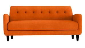 Estrella Fabric Sofa (Orange)