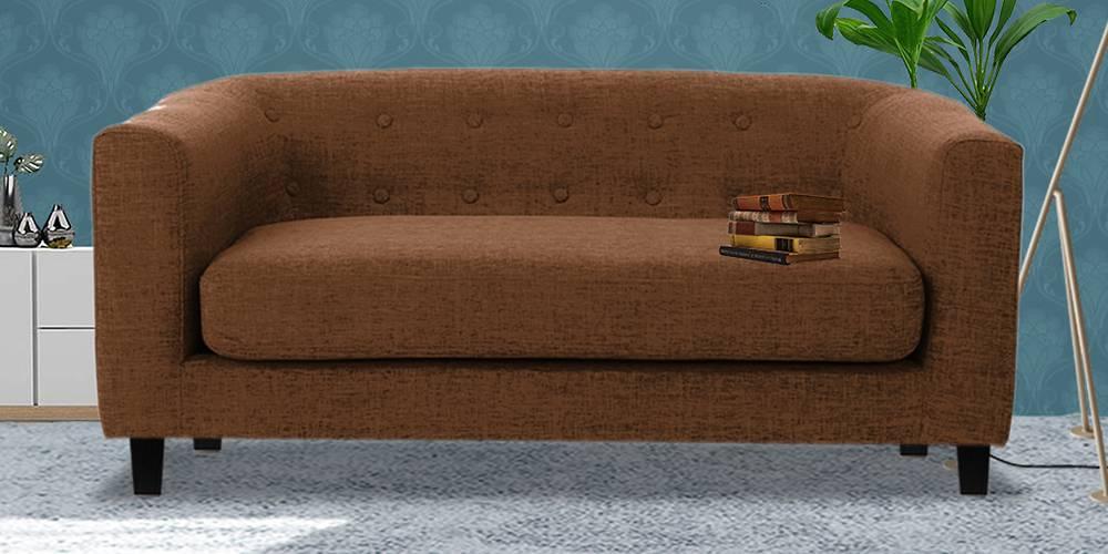 Casper Fabric Sofa (Brown) by Urban Ladder - -