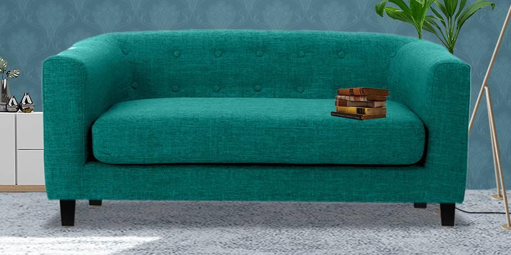 Casper Fabric Sofa (Green) by Urban Ladder - -