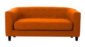 Casper Fabric Sofa (Orange)