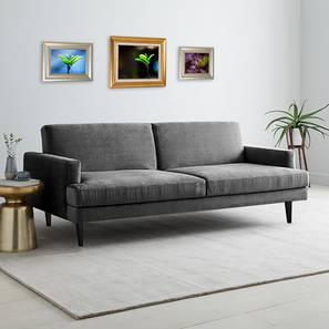 Zoya Sofa Cum Bed (Grey) by Urban Ladder - Cross View Design 1 - 363259