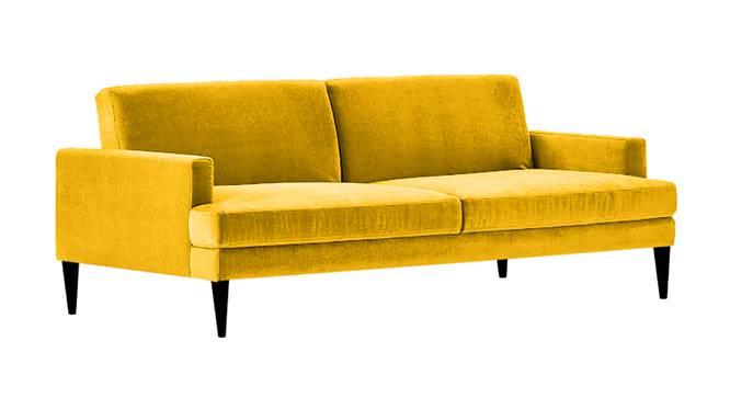 Zoya Sofa Cum Bed (Yellow) by Urban Ladder - Front View Design 1 - 363240