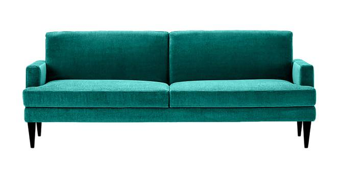 Zoya Sofa Cum Bed (Green) by Urban Ladder - Cross View Design 1 - 363253