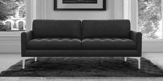 Kiltin Fabric Sofa (Grey) (Grey, 3-seater Custom Set - Sofas, None Standard Set - Sofas, Fabric Sofa Material, Regular Sofa Size, Regular Sofa Type)