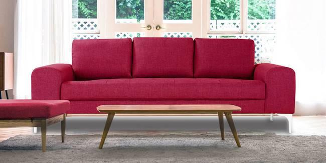 Denver Fabric Sofa (Pink) (Pink, 3-seater Custom Set - Sofas, None Standard Set - Sofas, Fabric Sofa Material, Regular Sofa Size, Regular Sofa Type)