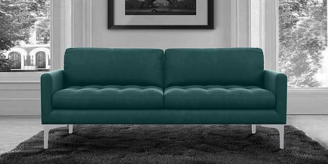 Devnya Fabric Sofa (Green) (Green, 3-seater Custom Set - Sofas, None Standard Set - Sofas, Fabric Sofa Material, Regular Sofa Size, Regular Sofa Type)