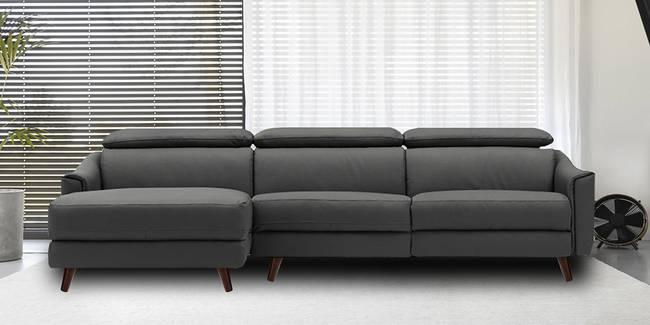 Foshan Sectional Fabric Sofa (Grey, None Standard Set - Sofas, Fabric Sofa Material, Regular Sofa Size, Soft Cushion Type, Sectional Sofa Type, Right Sectional Sofa Custom Set - Sofas)