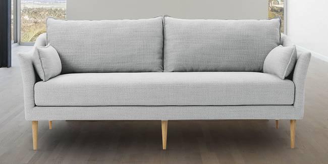 Leith Fabric Sofa(Light Grey) (3-seater Custom Set - Sofas, None Standard Set - Sofas, Light Grey, Fabric Sofa Material, Regular Sofa Size, Regular Sofa Type)