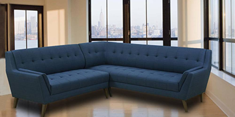 New York  Sectional Fabric Sofa by Urban Ladder - -
