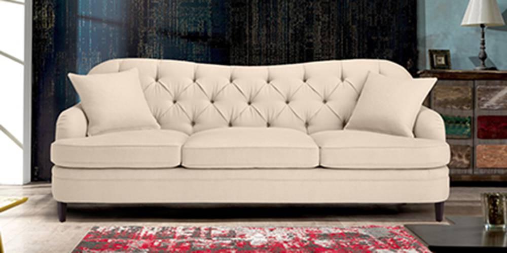 Paris Fabric Sofa(Beige) by Urban Ladder - -