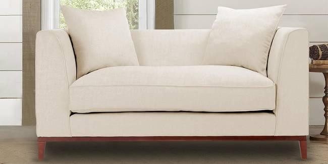 Sofia Fabric Sofa (Beige) (2-seater Custom Set - Sofas, None Standard Set - Sofas, Beige, Fabric Sofa Material, Regular Sofa Size, Regular Sofa Type)