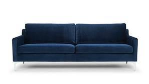 Venice Fabric Sofa (Navy Blue)