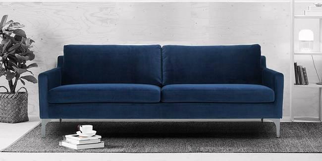 Venice Fabric Sofa (Navy Blue) (3-seater Custom Set - Sofas, None Standard Set - Sofas, Navy Blue, Fabric Sofa Material, Regular Sofa Size, Regular Sofa Type)