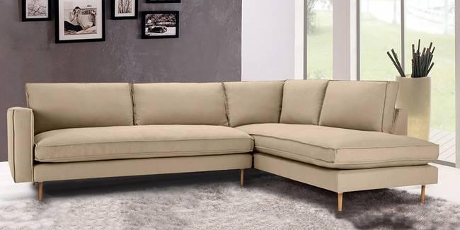 Winslow Sectional Fabric Sofa (Beige) (None Standard Set - Sofas, Beige, Fabric Sofa Material, Regular Sofa Size, Soft Cushion Type, Sectional Sofa Type, Left Sectional Sofa Custom Set - Sofas)