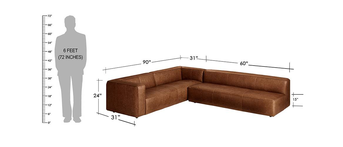 Left Sectional Sofa - Pricing