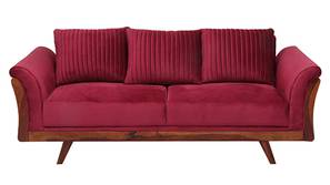 Anderson Fabric Sofa (Maroon)