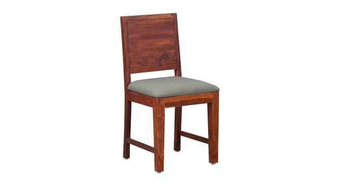 Jaisvi Dining Chair (HONEY, Semi Gloss Finish) by Urban Ladder - Front View Design 1 - 364086