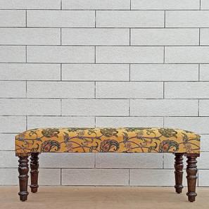 Advika Bench (Walnut, Melamine Finish) by Urban Ladder - Cross View Design 1 - 364814