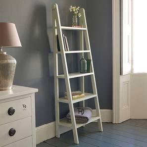 Meher Bookshelf (White, Melamine Finish) by Urban Ladder - Cross View Design 1 - 364913
