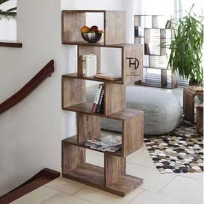 Navya Bookshelf (Natural, Melamine Finish) by Urban Ladder - Cross View Design 1 - 364917