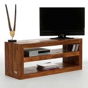 Zenia TV Unit (Natural, Melamine Finish) by Urban Ladder - Cross View Design 1 - 364962