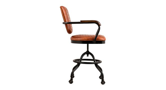 Devin Office Chair (Black) by Urban Ladder - Front View Design 1 - 364987
