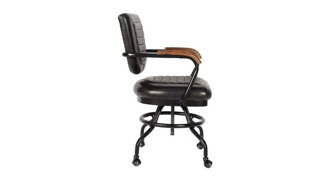 Pablo Office Chair (Tan & Chrome) by Urban Ladder - Front View Design 1 - 365076