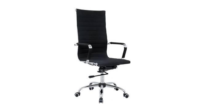 Atleigh Study Chair (Black) by Urban Ladder - Cross View Design 1 - 365116