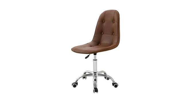 Allston Study Chair (Tan) by Urban Ladder - Front View Design 1 - 365131