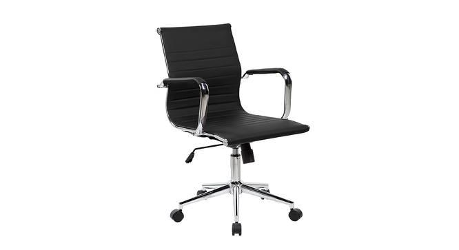 Keddrick Study Chair (Black) by Urban Ladder - Cross View Design 1 - 365661