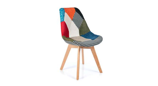 Lauren Lounge Chair (polyester Finish) by Urban Ladder - Cross View Design 1 - 365774