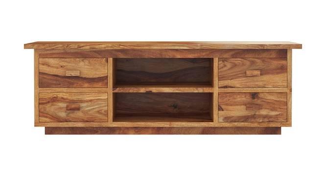 Michael TV Unit (Matte Finish, Natural Rosewood) by Urban Ladder - Cross View Design 1 - 366167