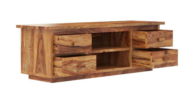 Michael TV Unit (Matte Finish, Natural Rosewood) by Urban Ladder - Front View Design 1 - 366181