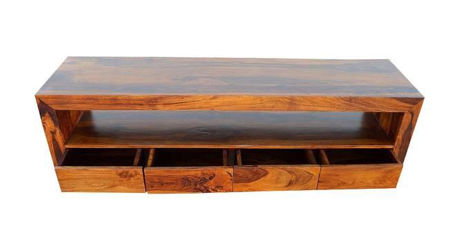 Theodore TV Unit (Matte Finish, Light Honey) by Urban Ladder - Front View Design 1 - 366236
