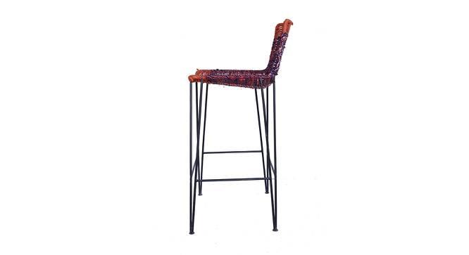 Stella Bar Stool (Black Finish) by Urban Ladder - Front View Design 1 - 366240