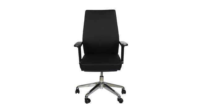 Ethelyn Study Chair (Black) by Urban Ladder - Front View Design 1 - 366385