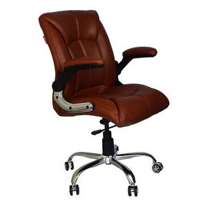Shaunte Study Chair (Tan) by Urban Ladder - Cross View Design 1 - 366450